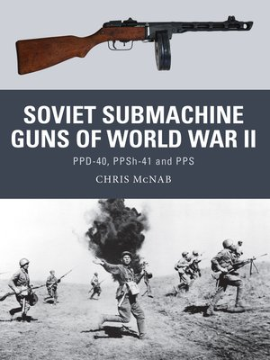 cover image of Soviet Submachine Guns of World War II