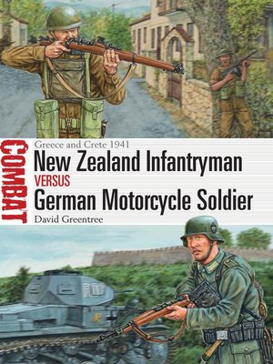 cover image of New Zealand Infantryman vs German Motorcycle Soldier