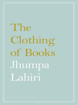 cover image of The Clothing of Books