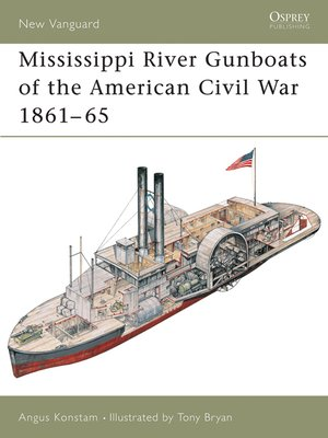 cover image of Mississippi River Gunboats of the American Civil War 1861–65