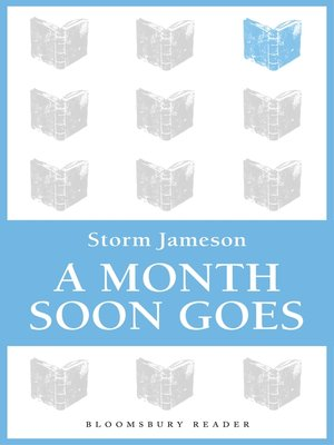 cover image of A Month Soon Goes