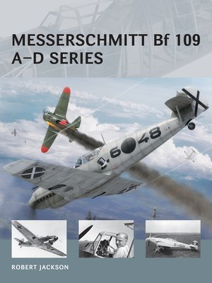 cover image of Messerschmitt Bf 109 A-D Series