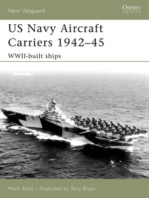 cover image of US Navy Aircraft Carriers 1942-45