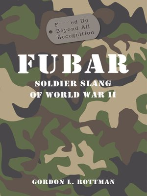 cover image of FUBAR F***ed Up Beyond All Recognition