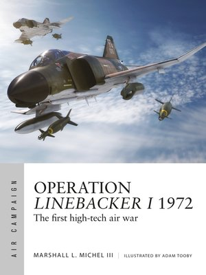 cover image of Operation Linebacker I 1972