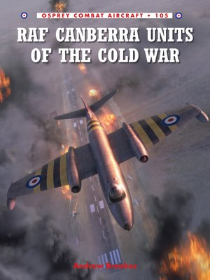 cover image of RAF Canberra Units of the Cold War