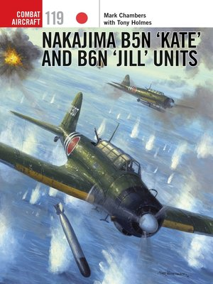 cover image of Nakajima B5N 'Kate' and B6N 'Jill' Units