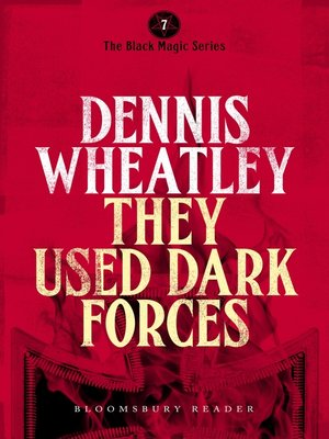 cover image of They Used Dark Forces
