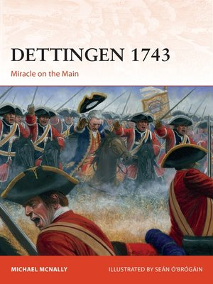 cover image of Dettingen 1743