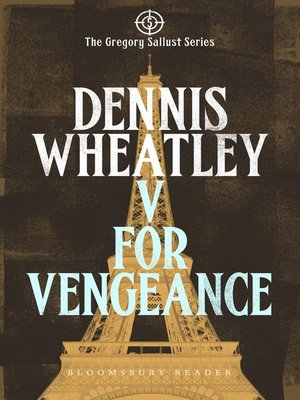 cover image of V for Vengeance