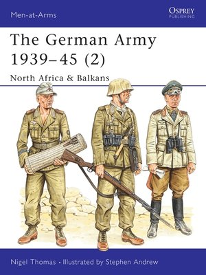 cover image of The German Army 1939–45 (2)