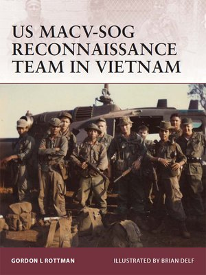 cover image of US MACV-SOG Reconnaissance Team in Vietnam