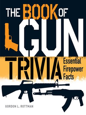 cover image of The Book of Gun Trivia
