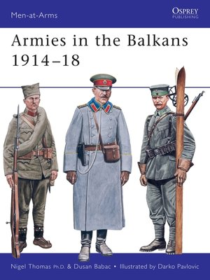 cover image of Armies in the Balkans 1914–18