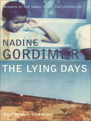 cover image of The Lying Days
