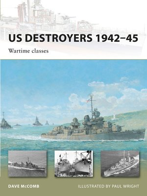 cover image of US Destroyers 1942–45