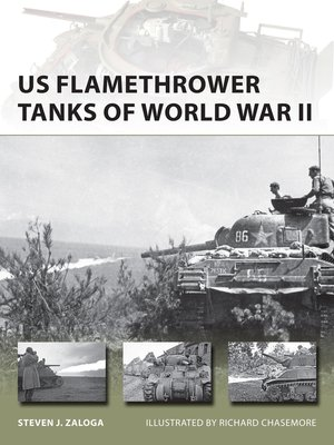 cover image of US Flamethrower Tanks of World War II