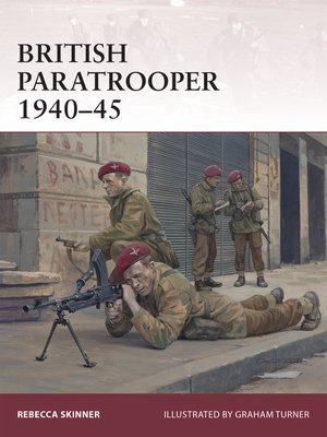cover image of British Paratrooper 1940–45