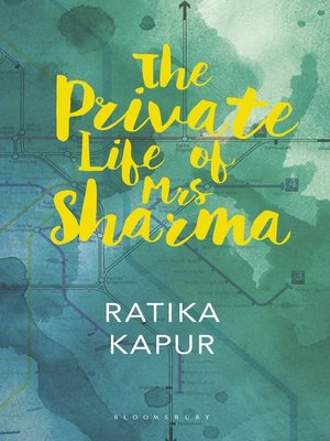 cover image of The Private Life of Mrs Sharma