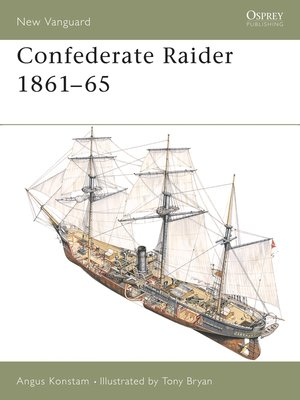 cover image of Confederate Raider 1861–65