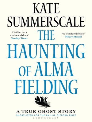 cover image of The Haunting of Alma Fielding