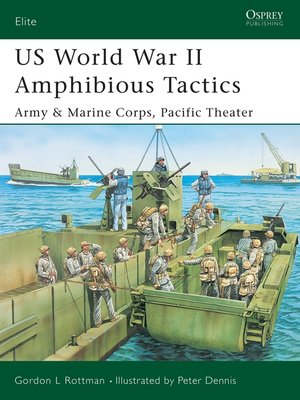 cover image of US World War II Amphibious Tactics
