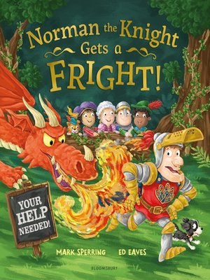 cover image of Norman the Knight Gets a Fright