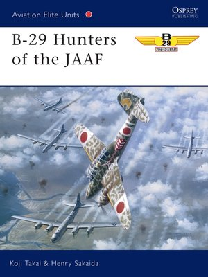 cover image of B-29 Hunters of the JAAF