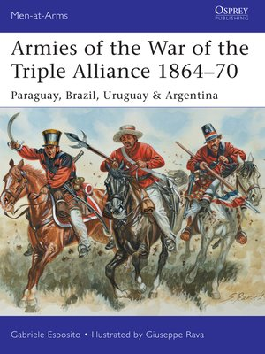 cover image of Armies of the War of the Triple Alliance 1864–70