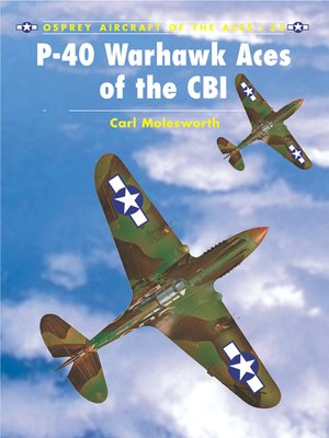 cover image of P-40 Warhawk Aces of the CBI