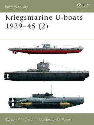 cover image of Kriegsmarine U-boats 1939–45 (2)