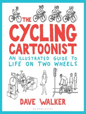 cover image of The Cycling Cartoonist