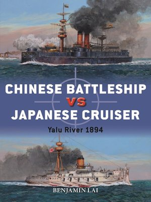 cover image of Chinese Battleship vs Japanese Cruiser