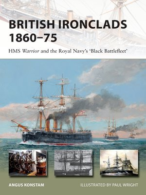 cover image of British Ironclads 1860–75