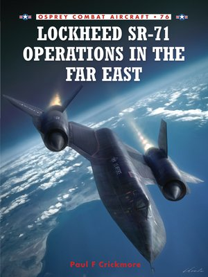 cover image of Lockheed SR-71 Operations in the Far East