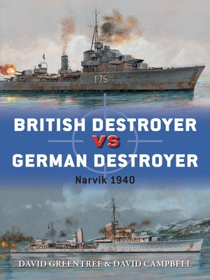 cover image of British Destroyer vs German Destroyer
