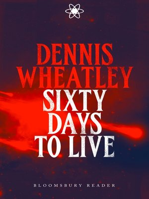 cover image of Sixty Days to Live