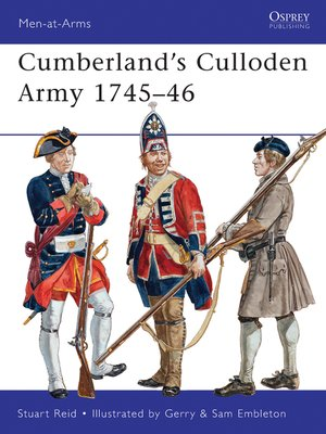 cover image of Cumberland's Culloden Army 1745–46