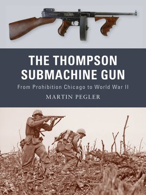 cover image of The Thompson Submachine Gun