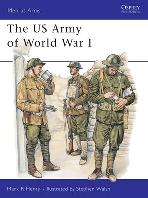 cover image of The US Army of World War I