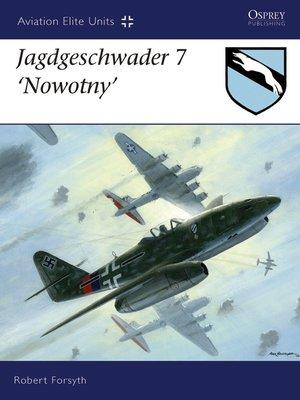 cover image of Jagdgeschwader 7 Nowotny