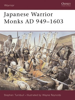 cover image of Japanese Warrior Monks AD 949-1603