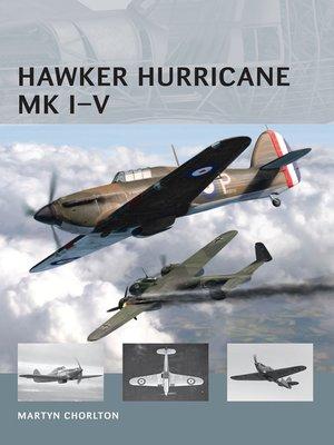 cover image of Hawker Hurricane Mk I-V