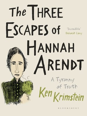 cover image of The Three Escapes of Hannah Arendt
