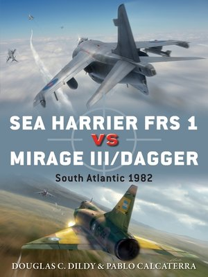 cover image of Sea Harrier FRS 1 vs Mirage III/Dagger