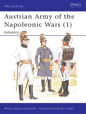 cover image of Austrian Army of the Napoleonic Wars (1)