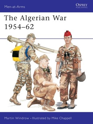 cover image of The Algerian War 1954–62