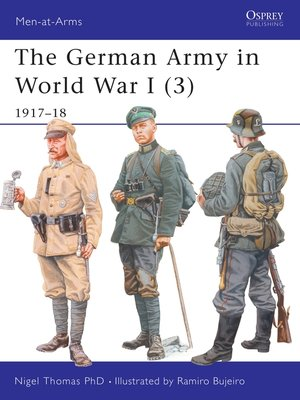 cover image of The German Army in World War I (3)
