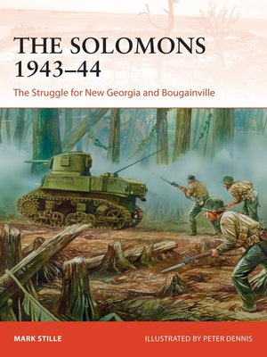 cover image of The Solomons 1943–44