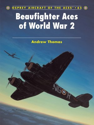 cover image of Beaufighter Aces of World War 2